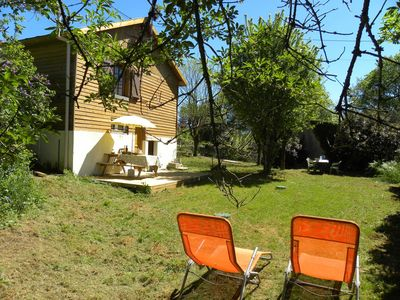 Photo for Wooden Chalet Rocamadour