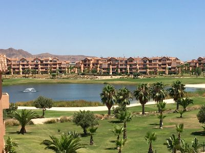 Photo for Fabulous contemporary 2 bedroom Apartment on the 5* Mar Menor Golf Resort