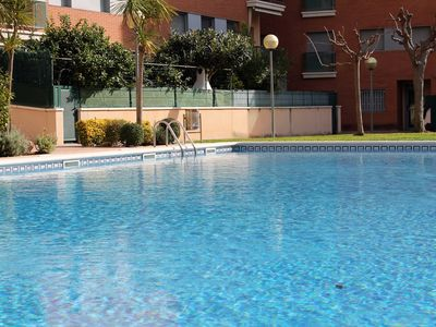 Photo for Suitur beach apartment with pool