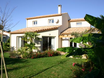 Photo for Villa with beautiful garden around, quiet location, close to beach