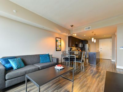 Photo for Pet-Friendly Condo w LCD TV, Grill, Complex Game Room, Gym & Business Center