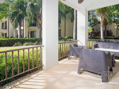 Photo for Just remodeled ground floors 3BR condo by the pool in pristine gated community