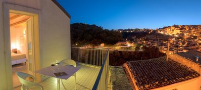 Photo for Ulisse, New accommodation in Ragusa Ibla with terrace and panoramic view