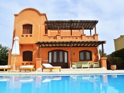 Photo for Luxury detached Villa with heated pool