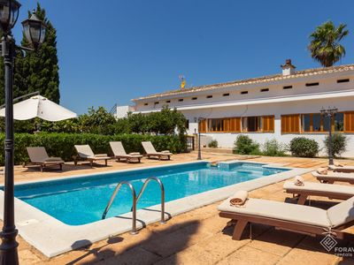 Photo for Son Valenti Nou - Beautiful villa with pool and garden in sa Pobla