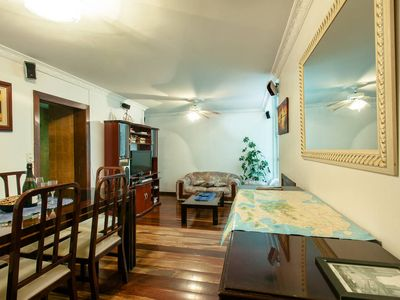 Photo for Space and comfort in 2 bedrooms. Best spot in Copa!Near Ipanema / Lagoon / subway