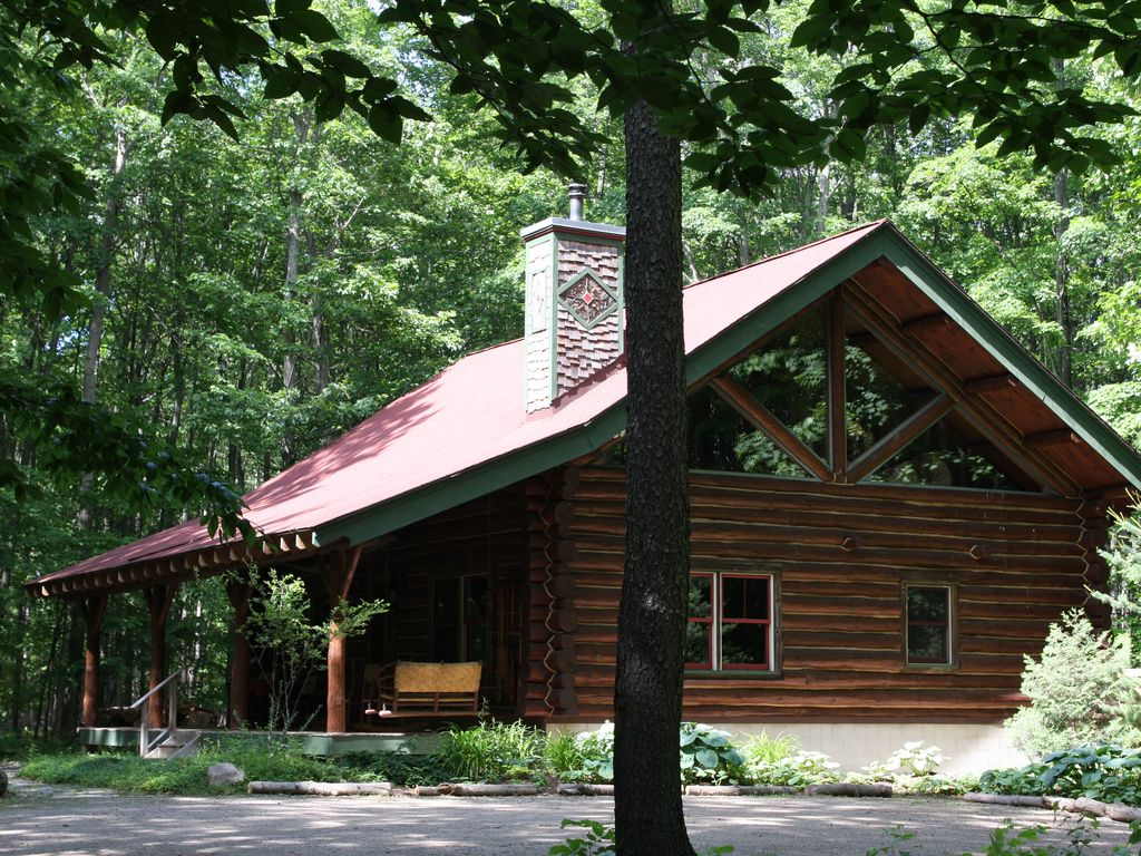 The cabin classic elegant log home experience 4446658 for Elegant log homes