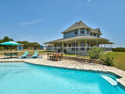 Photo for 300 Acre Private Ranch - 360 Degree Views From Wrap-Around Porch