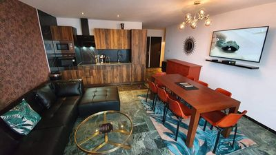 Photo for APARTMENT DONE AGAIN IN NEW ART DECO STYLE, 3 BEDROOMS, SKIS ON FEET.