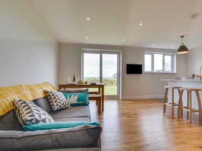 Photo for The Keys is a lovely newly-furnished bungalow in the delightful village of Llangwm with sunning view