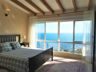 Photo for Sunny Villa in front of the sea in the Costa Blanca.Stunning sea views