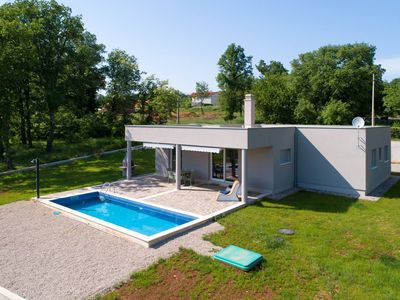 Photo for Modern villa with a private swiming pool outside the city rush