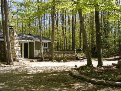 Photo for Quiet Cottage in the Woods - Door County Remote Seclusion