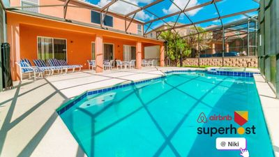 Photo for Closed to Disney! BIG 7 Bedroom & Pool & Game Room