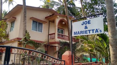 Joe and Marietta's Guesthouse, Calangute, Goa