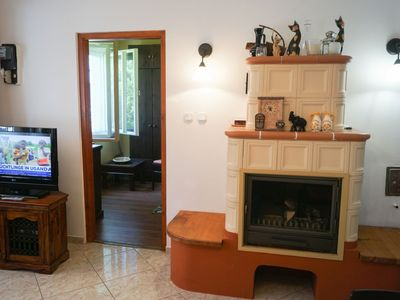 Photo for Pretty terrace, air conditioning, 2 bedrooms, baby bed, barbecue, parking
