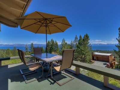 Photo for Gorgeous Panoramic Lake View Home,New remodel Hot Tub,Wifi, Private Beach Club,