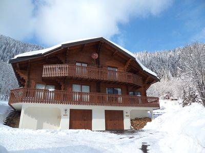 Photo for CHALET in CHATEL Haute Savoie ski slopes Linga 4 bedrooms 8 persons