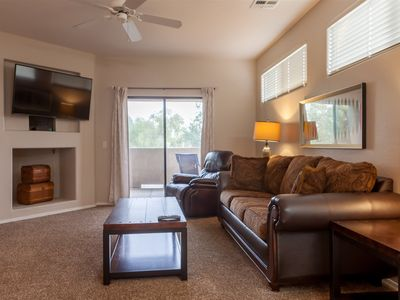 Photo for 2BR Plus Ocotillo Townhome, Heated Pool, Spa, Gym