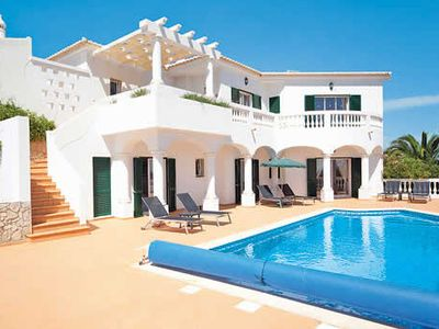 Photo for 3 bedroom villa in resort with facilities for all ages. Heated pool