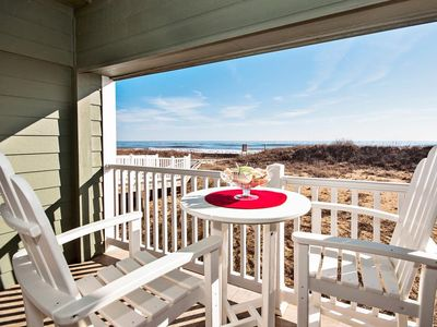 Photo for Prime condo with private balcony, new tile bathroom, ocean views & steps to the beach! (FFR115 - Ocean Oasis)
