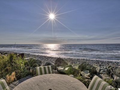 Photo for Oceanfront Beach House w/Private Hot Tub at Luna Shores
