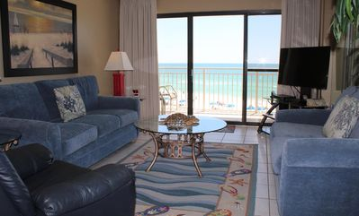 Photo for Very Desireable!! Gulf Front 2BR/2BA  Unit D303 Stay 7 Pay 6