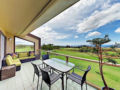 Photo for New Listing! Waikoloa Golf & Beach Getaway (Honu Hale)Pool & Ocean-View Lanai