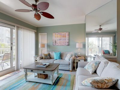 Photo for Dog friendly, Palmetto Dunes oceanfront condo with shared pool & private beach