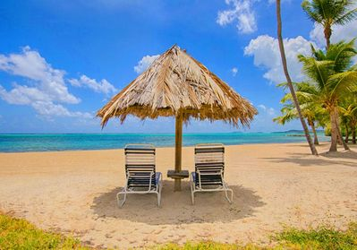 A picture perfect beach awaits you..