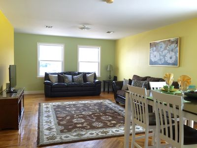 Photo for Splendid 3 Bedroom/2 Bathroom Apt.  Approx.  20 Minutes From Times Square By Bus