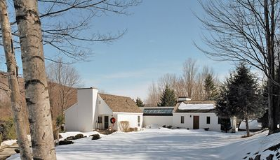 Photo for Killington Country Estate has it all.  Plenty of private property for snow shoeing or sledding and a wonderful outdoor hot tub to soak your tired muscles.