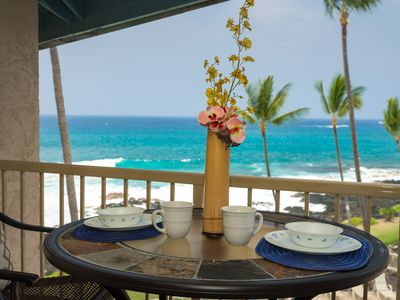 Photo for Two Amazing views from one lanai (ocean and pool) -  Kona Reef C-33 - Specials