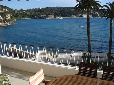 Photo for 1 bedroomed flat overlooking the sea