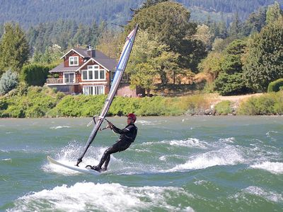 Windsurf directly from home!