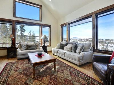 Photo for Large Luxurious Mountain Lodge | Outdoor Amenities | Mtn Luxe Lodge | Sleeps 17