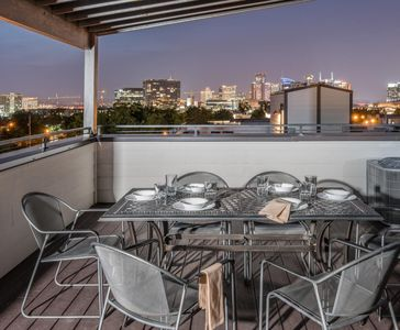 Photo for Covered, Private and Fully Furnished Rooftop, Skyline Views - Close to Everything