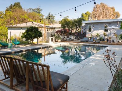 Photo for Pasadena Mid-century home adjacent to the Rose Bowl