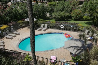 Aerial View of the Maui Vista Pool (not view from this unit)
