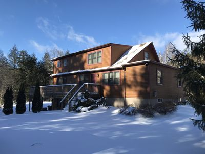 Photo for Skiing, Weddings, Golf, Restaurants - Great Group Retreat - Dogs Friendly -