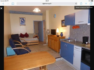 Photo for Collioure, Apt T2 DRC in pedestrian street, 50 m beach