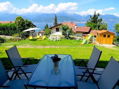 Photo for Asia apartment in Stresa with wonderful lake view