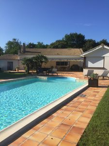 Photo for VILLA WITH HEATED SWIMMING POOL