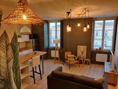 Photo for Cosy Appartment in City center L'Isle-Jourdain