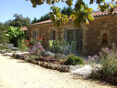 Photo for House full foot QUIET - private pool heated 5 minutes from SARLAT