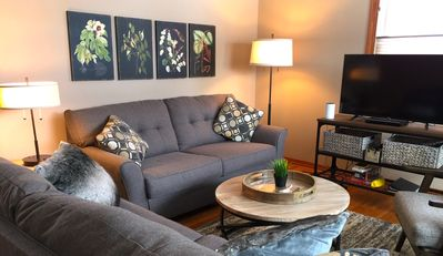 'The Bungalow' Living Room w/Smart TV, DVD, and Music
