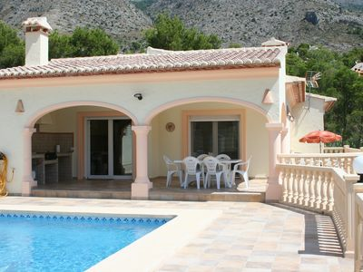 Photo for Villa w/Stunning Mountain Views, Just 8 Min From Beach, Private Pool