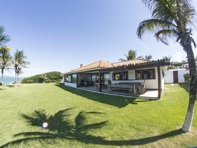 Photo for Mansion Standing on the sand in a Paradisiac Landscape