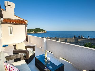 Photo for Apartment with the amazing view over the Old Town and Lokrum island