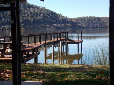 Photo for Charming Soda Bay Lakefront home with private dock and spectacular views!